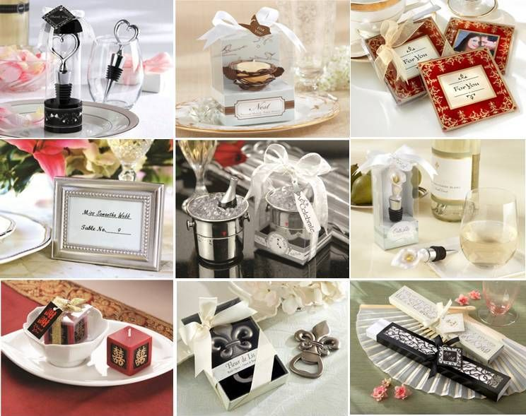 Purchased favors everything wedding for Wedding table favours