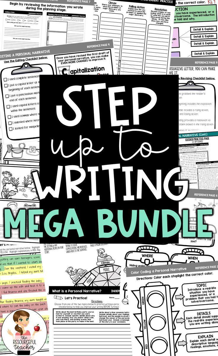 Step Up To Writing Inspired Mega Bundle First Grade