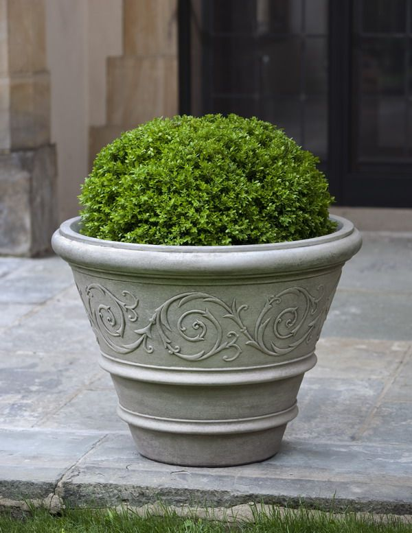 Proudly Constructed In The USA From Premium Cast Stone Concrete. Arabesque  Rolled Rim Garden Planter Is Available In Your Choice Of Classic And  Distinct ...