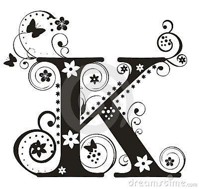K  Letter K Royalty Free Stock Image  Image   K