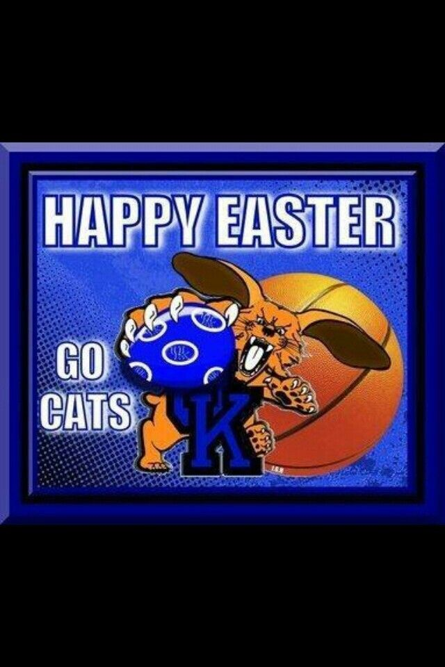 Happy Easter Ky Wildcats Uk Wildcats Uk Wildcats Basketball Wild Cats