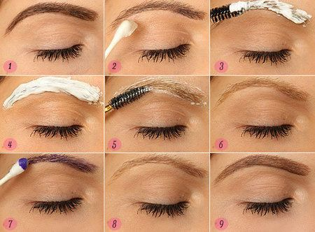 How to Bleach your Eyebrows! Step by Step | Bleached ...