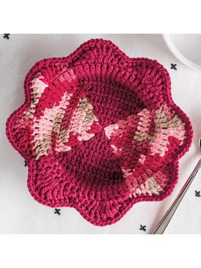 Heartwarming Microwave Bowl Cozy Crochet Pattern