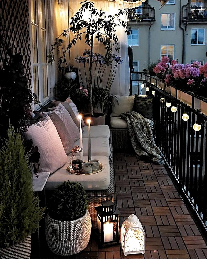 Deco Balcon Instagram En 2020 Balcon Del Apartamento De Decoracion Diseno De Balcon Decoracion De Terrazas Pequenas