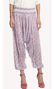 Ulla Johnson Floral-print Jaipur Pants