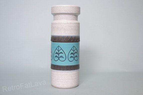Beautiful Dümler & Breiden cylinder shaped vase