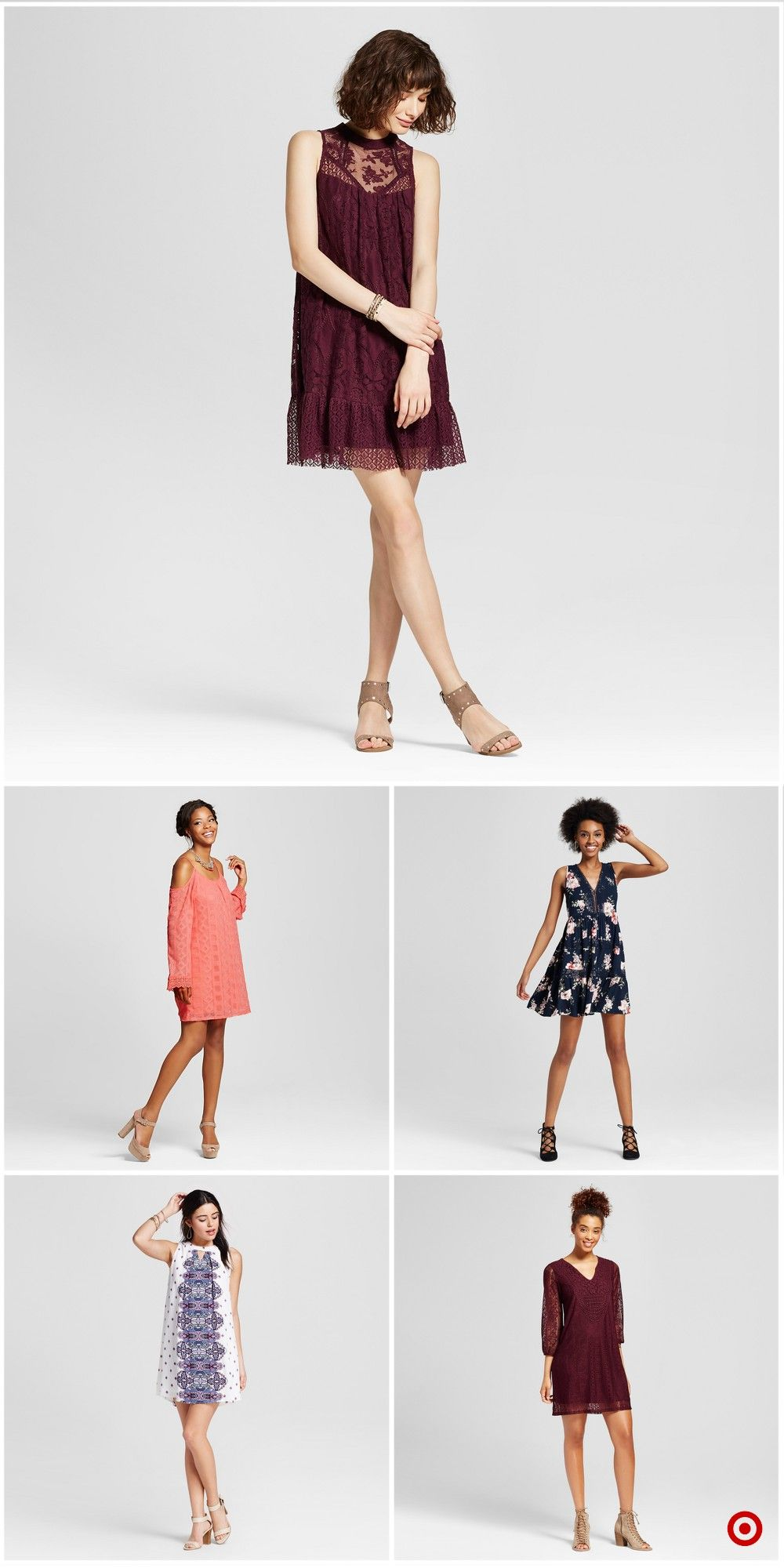 Shop Target For Shift Dresses You Will Love At Great Low Prices Free Shipping On Orders Of 35 Or Free Sam Summer Fashion Dresses Dressy Dresses Nice Dresses [ 2000 x 1000 Pixel ]