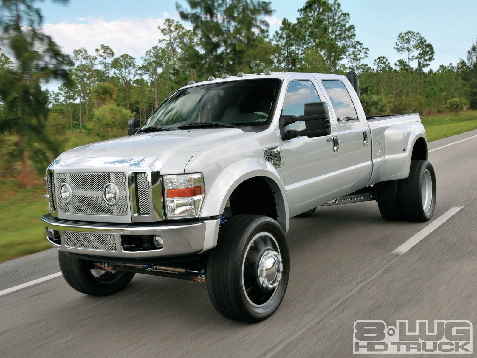 Lifted to luxury 2008 ford f450 lariat super duty american force 24 inch wheels photo 12