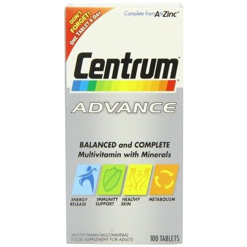 Centrum Advance 100 Tablets By Herbal Medicosfree Home Delivery