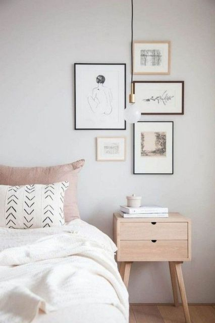 56 Minimalist Bedroom Decoration that Inspire - Home-dsgn