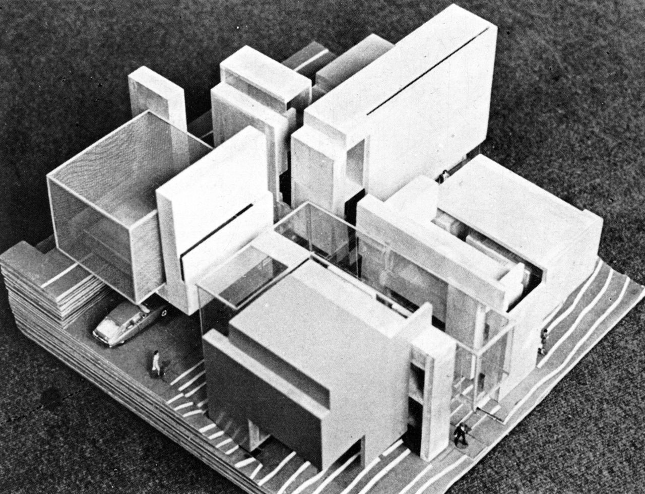 Peter eisenman house vi 3d model