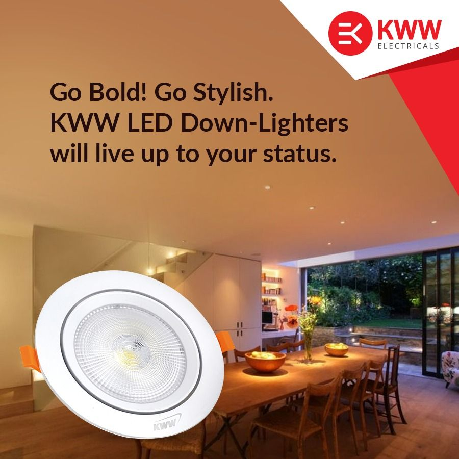 Kww Led Down Lights Are Brilliant Energy Saving Lighting Solutions That Can Be Easily Installed To Brighten Your Hom In 2020 Energy Saving Lighting Led