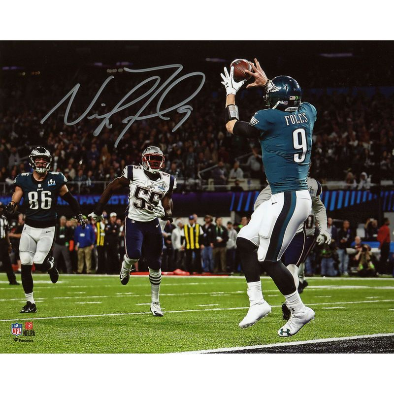 Nick Foles Philadelphia Eagles Fanatics Authentic Super Bowl LII ...