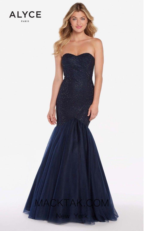 423b9b67c1ff Marvelous sequined beaded mermaid dress by Alyce 60159 #mermaid #macktak # promdress #promgirl