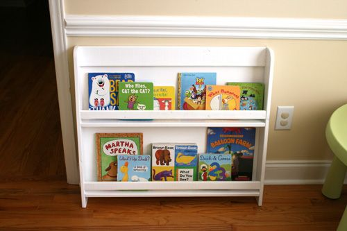 DIY Kids Bookshelf Made With Plans From Ana White