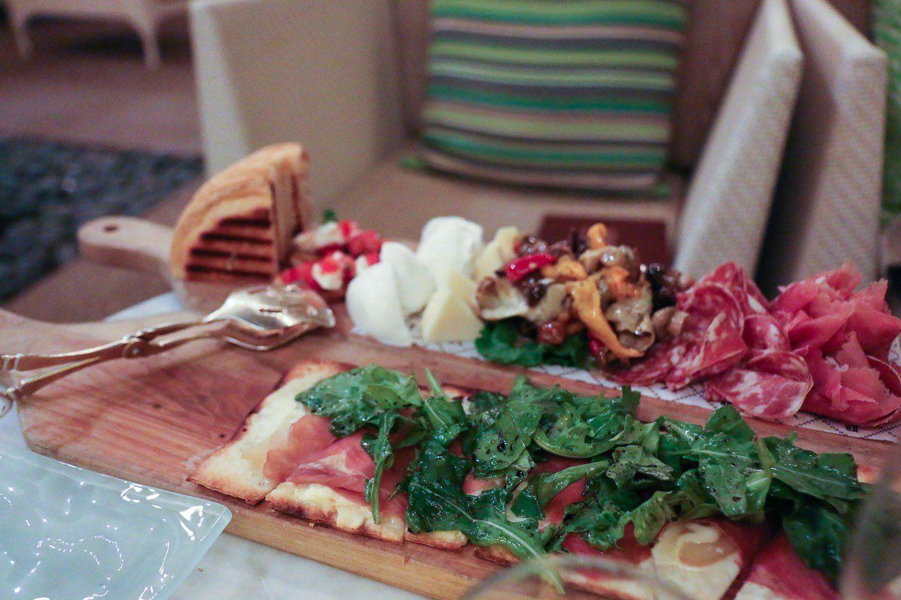Glorious dining at four seasons hotel las vegas la jolla