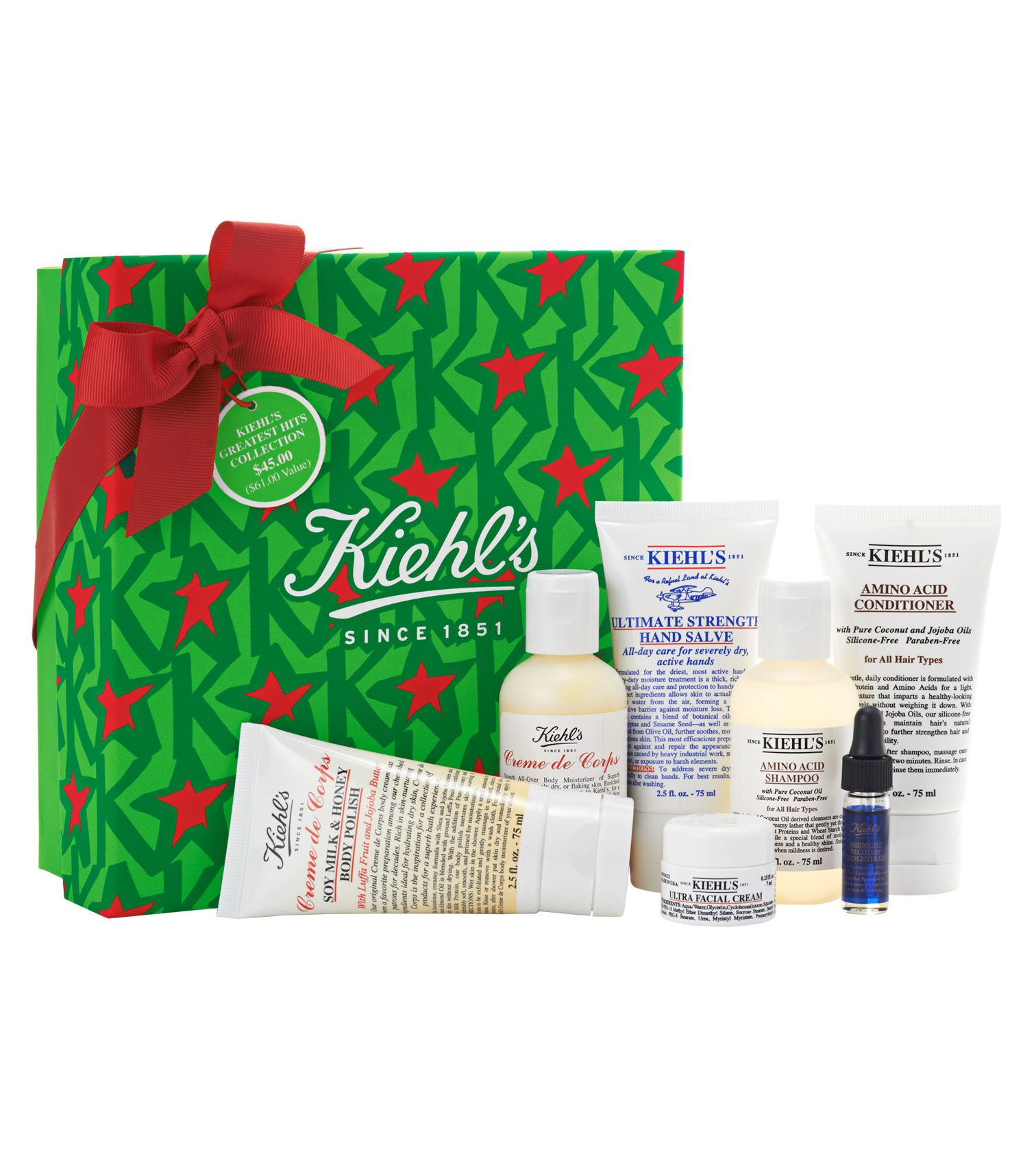Kiehls greatest hits collection 45 kiehls gifts