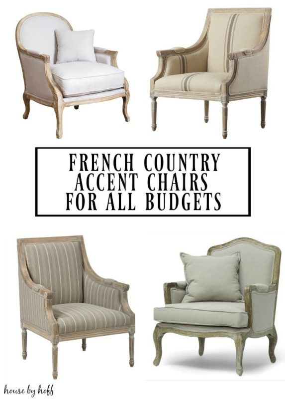 French Country Accent Chairs For All Budgets French Country