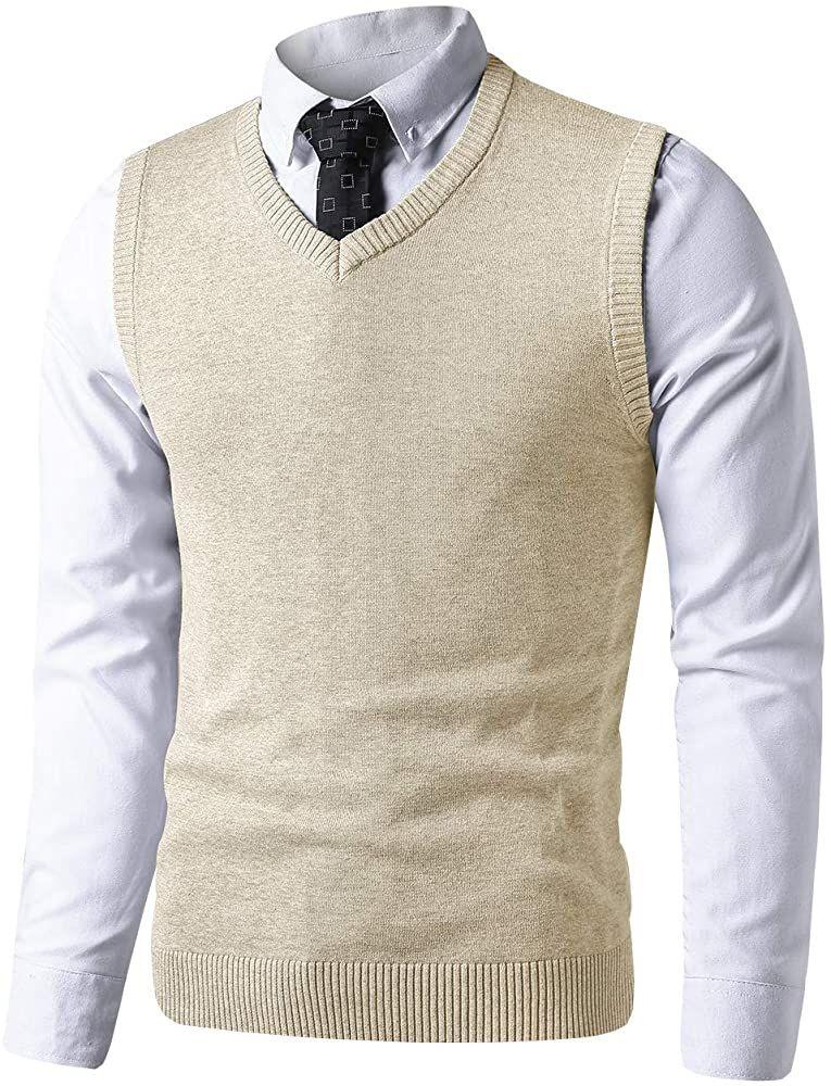 Mens white sleeveless sweater vest nala empowerment investment company