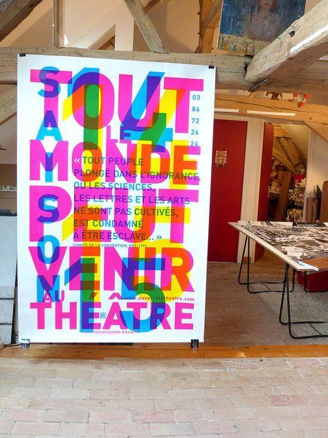 Théatre Auxerre 2014 - Vincent Perrottet | Grafisk design ...