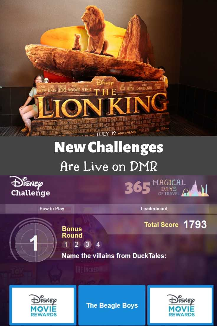 New Challenges Are Live On Dmr 365 Magical Days Of Travel