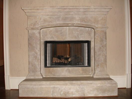 faux plaster finish with raised hearth french country pinterest rh pinterest ca DIY Faux Stone Fireplace paint faux stone fireplace