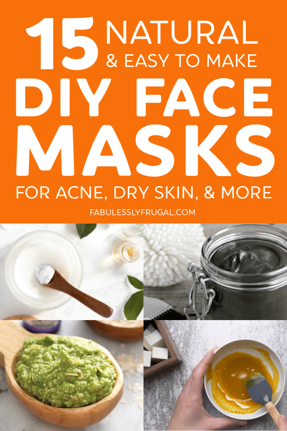 Photo of 15 Best DIY Face Masks for Acne, Dry Skin, and More – Fabulessly Frugal