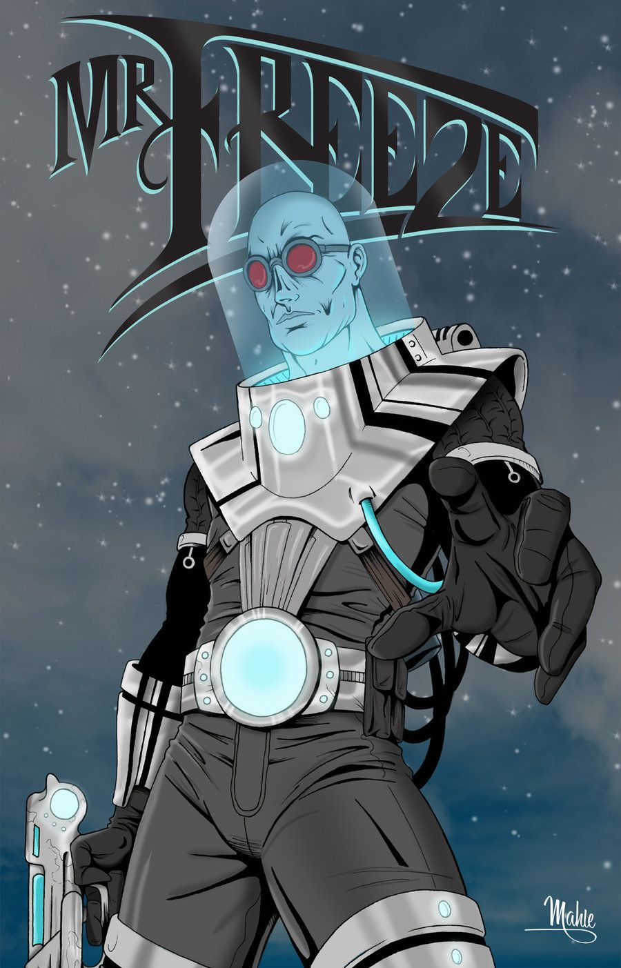 Mr. Freeze by MikeMahle.deviantart.com