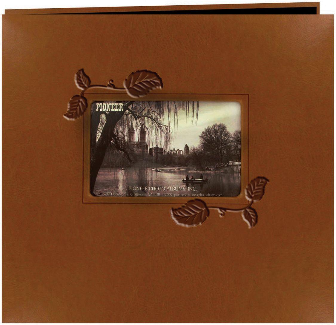 Pioneer Embossed Leatherette Framer Photo Album Leatherette Covers