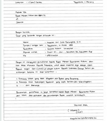 Cara Membuat Surat Lamaran Kerja Yang Baik Dan Benar Tulisan Tangan Tulisan Akuntansi Keuangan