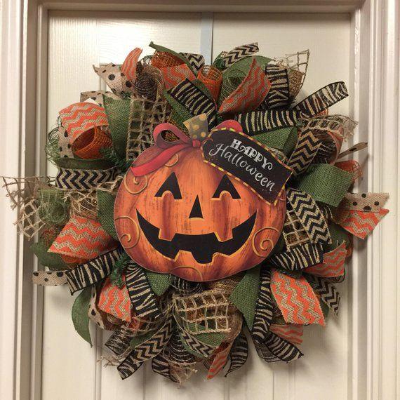 Unique Halloween Wreaths for a Spooky Front Door - My Cozy Colorado