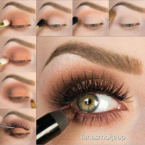 Maquillaje en café