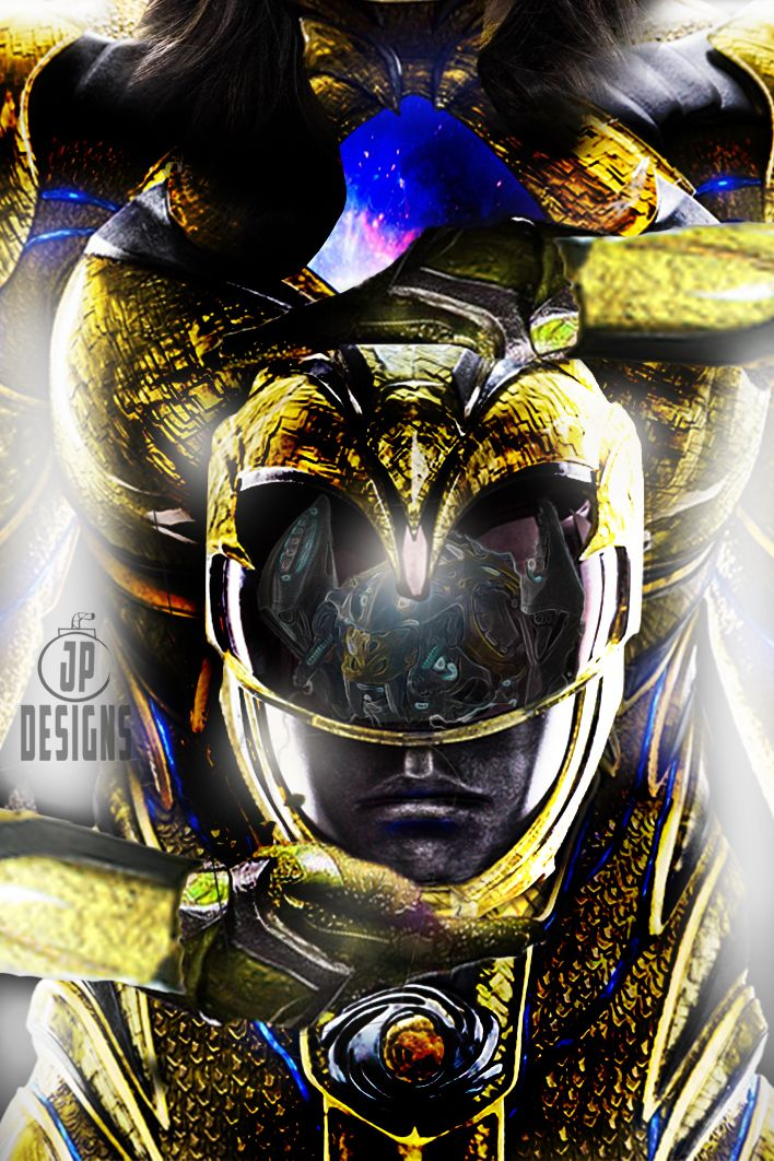 Yellow Ranger Cover by onemindedgeek (With images) Power