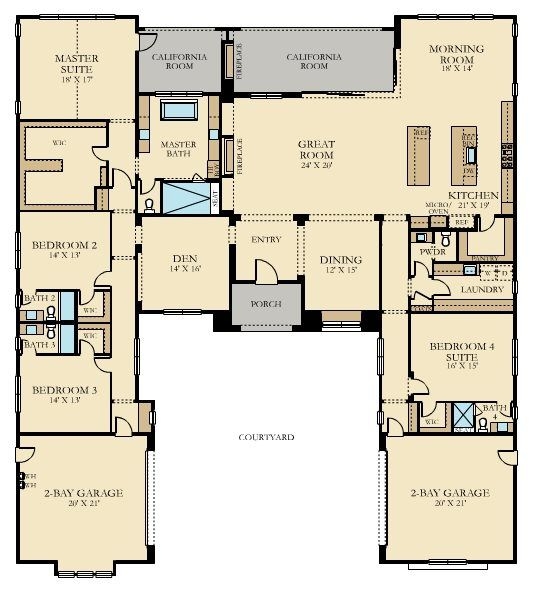 Pin By Suewg On Home Sweet Home Family House Plans New House Plans House Plans For Sale
