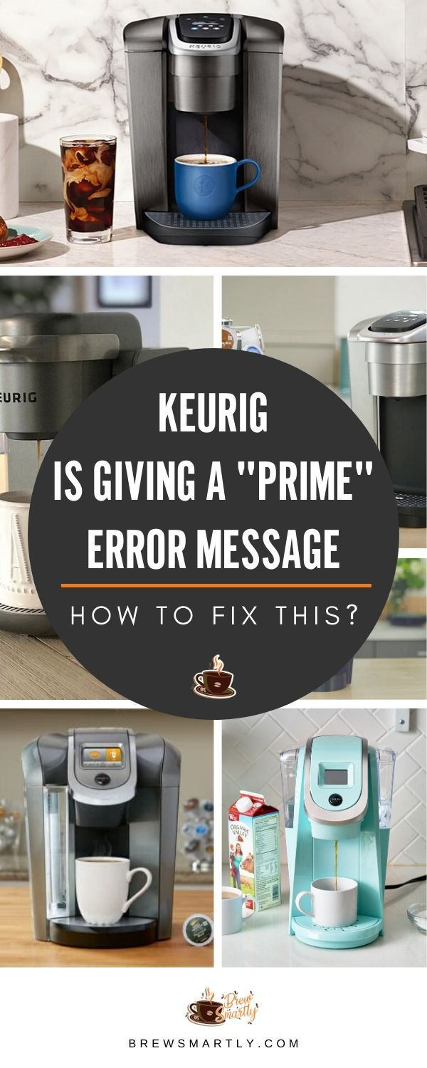 Keurig Error Message : keurig, error, message, Keurig, Giving,