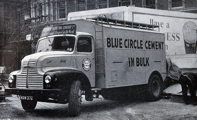 1958 Leyland Comet Blue Circle Bulker Old Lorries Leyland Small Trucks