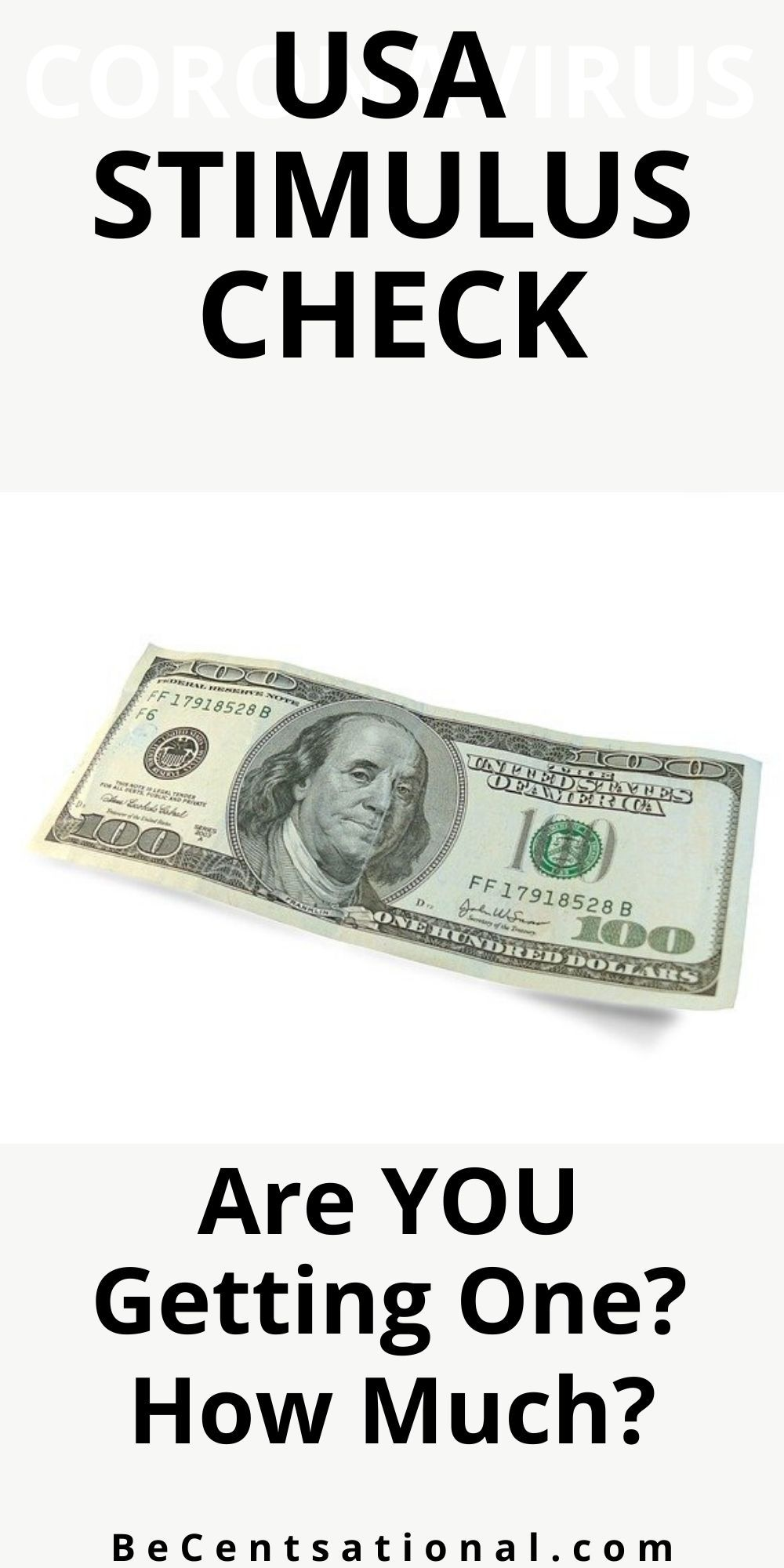 How do qualify for a stimulus check