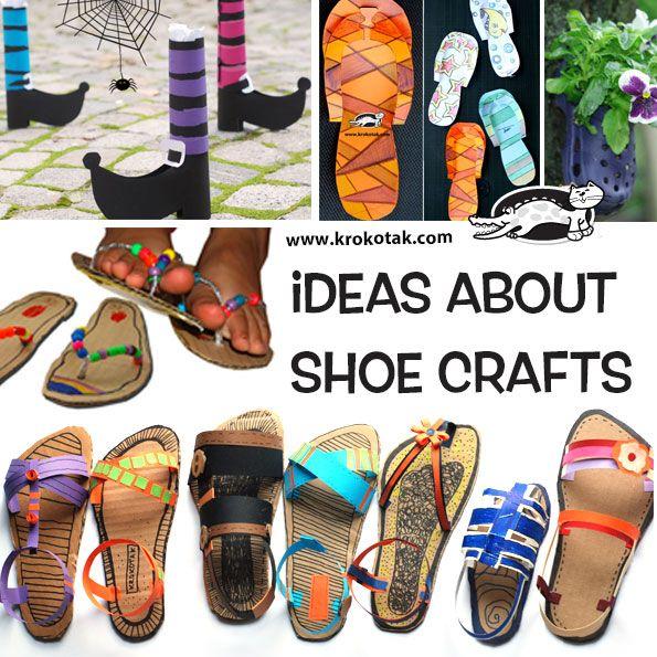 Http Krokotak Com 2017 06 Design Your Own Sandals Fashion Design For Kids Paper Shoes Shoe Crafts