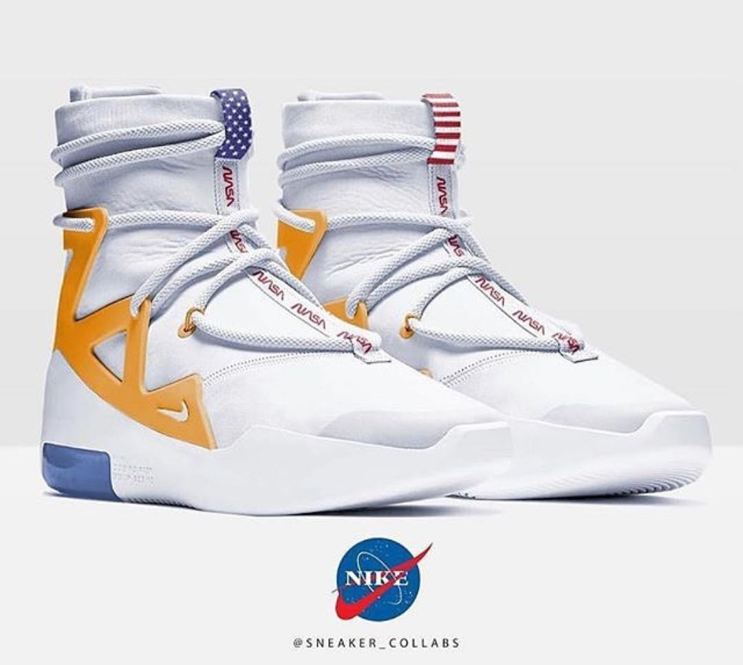 Mareo sentido Refinería  Thoughts on this NASA x Nike x Fear of God Concept by Sneaker Collab? |  Sneakers men fashion, Sneakers nike, Concept sneakers