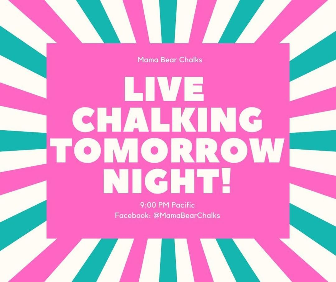 Let's make something pretty! See you tomorrow night! 9:00pm PACIFIC #mamabearchalks #colorful #painting #diy #doityourself #diyproject #diys #diyideas #craft #crafty #crafts #crafting #artsandcrafts #maker #crafter #makersgonnamake #imadethis #diydecor #makersmovement #makers #colors #chalkcouture #chalkart #chalkdecor #chalk #chalkboard #chalkboardart #diycrafts #diyhomedecor
