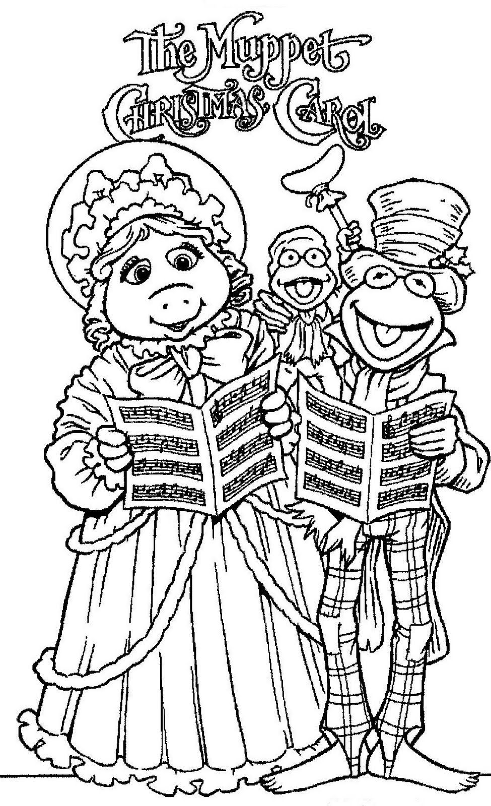 The Muppets Drawings Coloring Child Coloring And Children Wallpapers Clipart Best Cli Christmas Coloring Pages Baby Coloring Pages Christmas Music Coloring