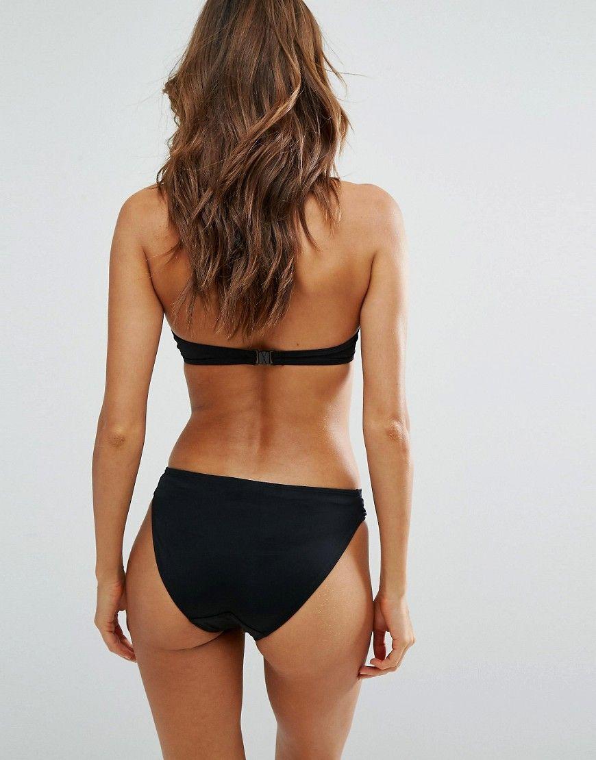 cfac0ef316fc7 Dorina super push up bikini top in black