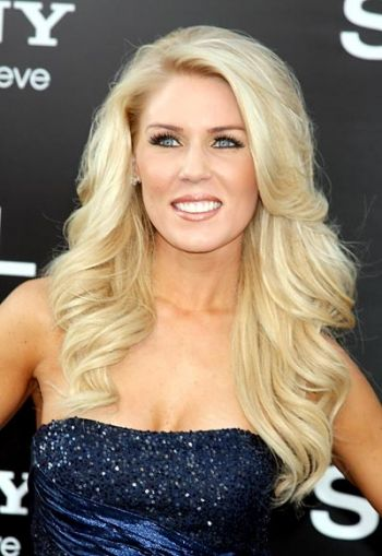 Gretchen Rossi Natural Hair Color