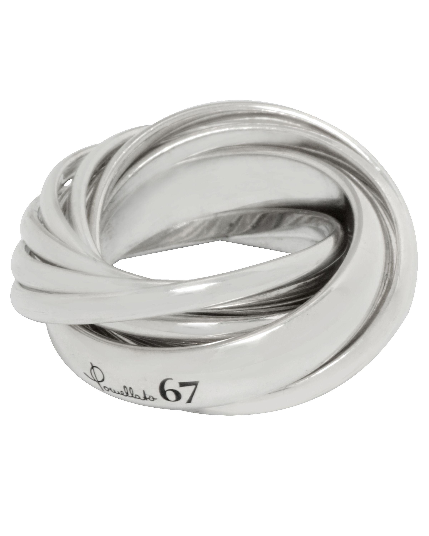 miglior servizio 68e66 c7574 Pomellato 67 Argento Sterling Silver Ring A.B412/A-29 ...