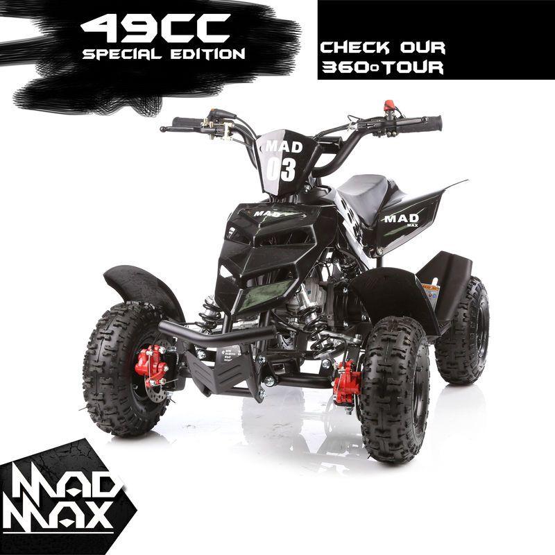 Details About 49cc Mini Quad Bike Atv Buggy Kids 4 Wheeler Pocket