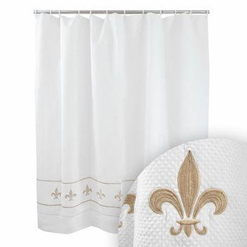 Beige Shower Curtains