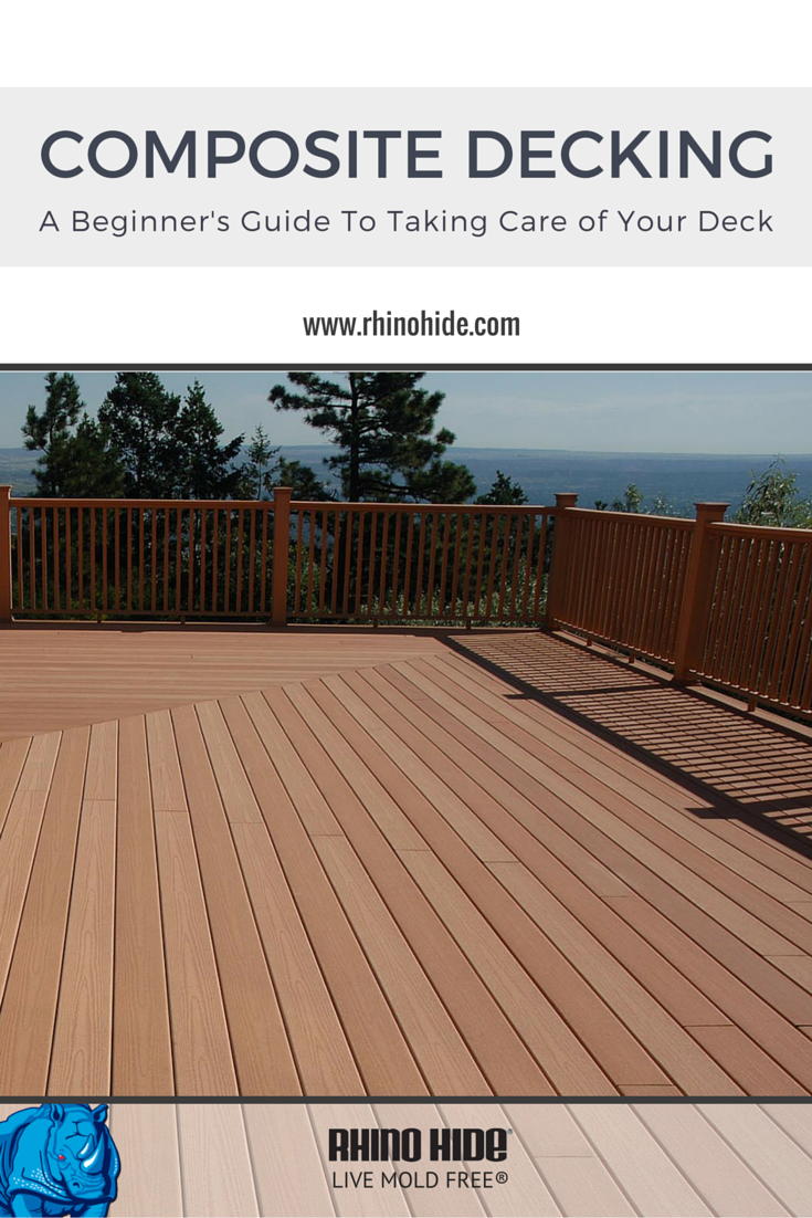 Easy Tips And Tricks To Keep Your Composite Deck Looking New All Year Long Decking Cleaner Diy Ecofriendly