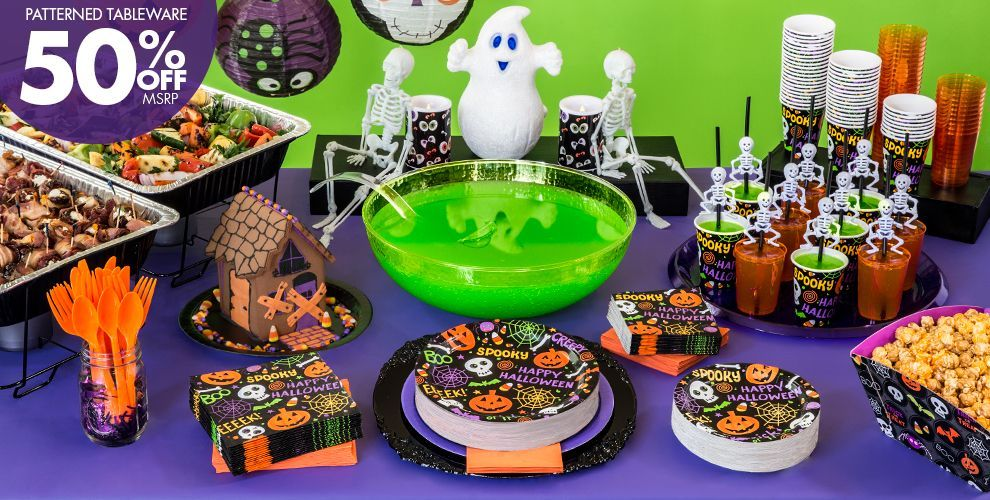 spooktacular halloween party supplies party city canada - Halloween Decorations For A Party