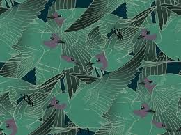 Image Result For Papier Peint Art Deco Bleu Banque D Idees Pour