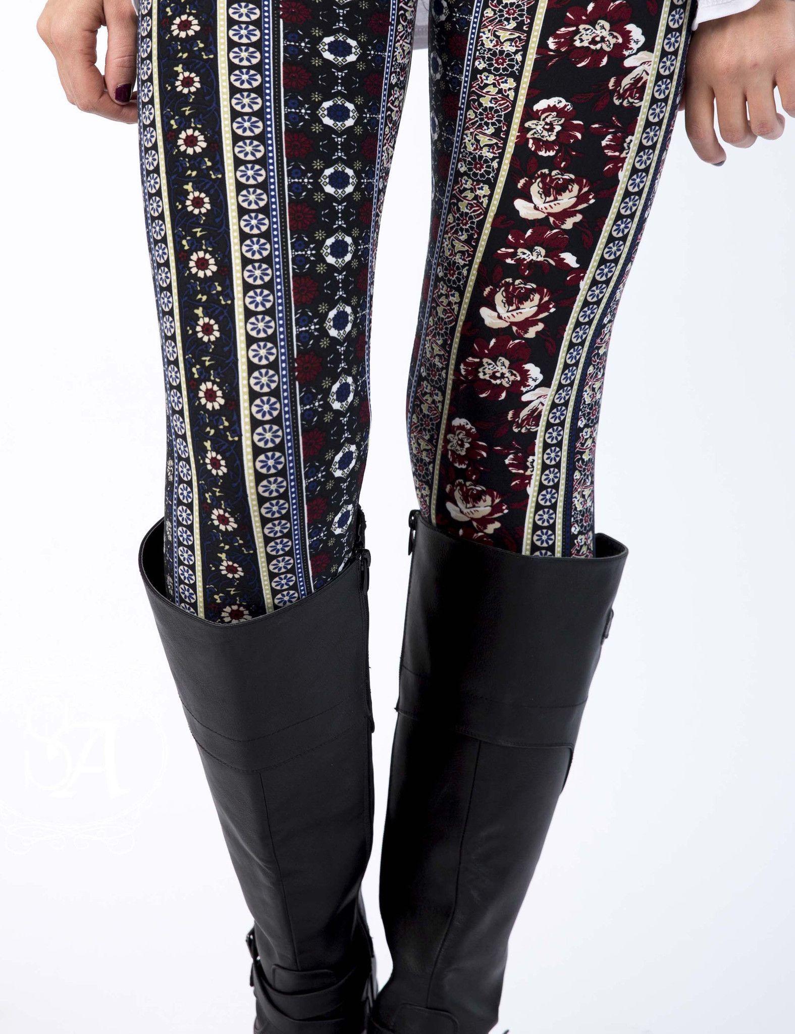 #boutiquedeals Floral Patterned Leggings